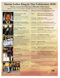 Martin Luther King Jr. Day Celebration 2020