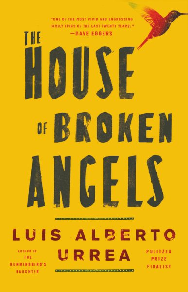 Book cover for House of Broken Angels.