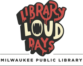 library haunted loud logo